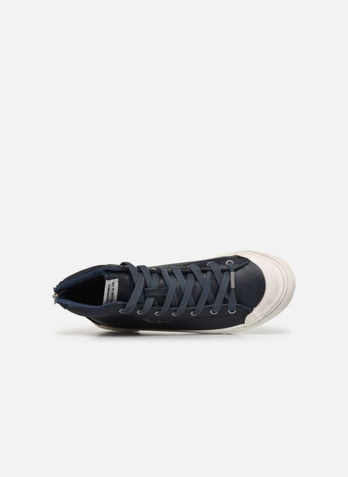 Sneakers Pepe jeans New Brother Azzurro immagine sinistra