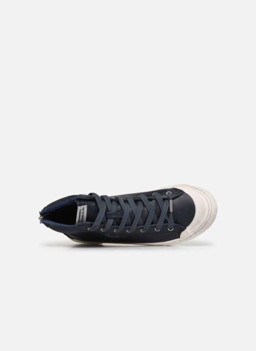 Baskets Pepe jeans New Brother Bleu vue gauche