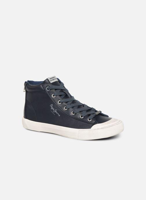 Baskets Pepe jeans New Brother Bleu vue détail/paire