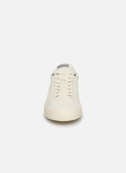 Sneaker Pepe jeans Portobello Archive weiß schuhe getragen