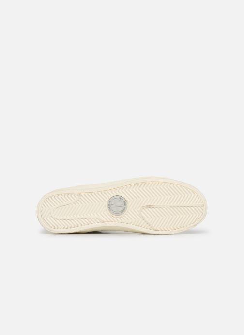 Baskets Pepe jeans Portobello Archive Blanc vue haut