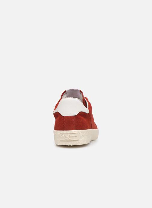 Baskets Pepe jeans Portobello 1973 Rouge vue droite