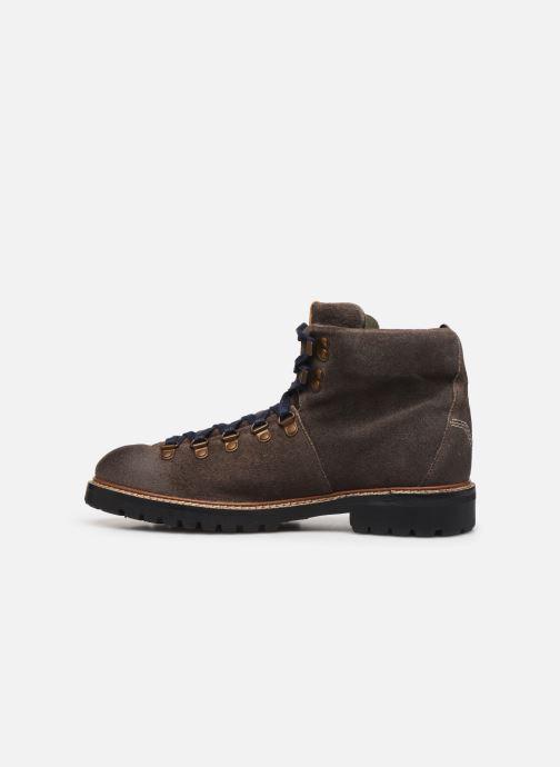 Bottines et boots Pepe jeans Sherpa Boot Sde Marron vue face