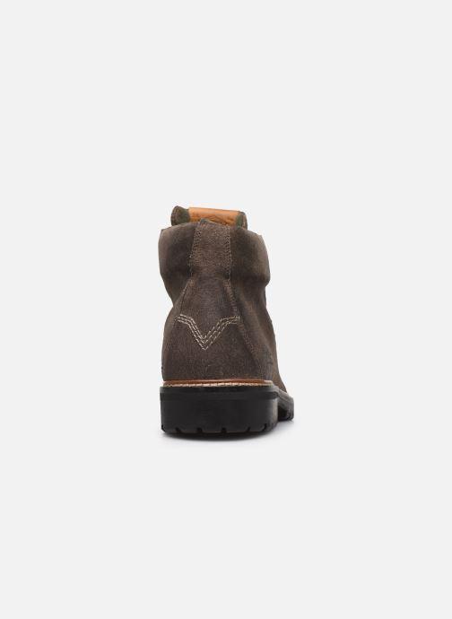 Bottines et boots Pepe jeans Sherpa Boot Sde Marron vue droite
