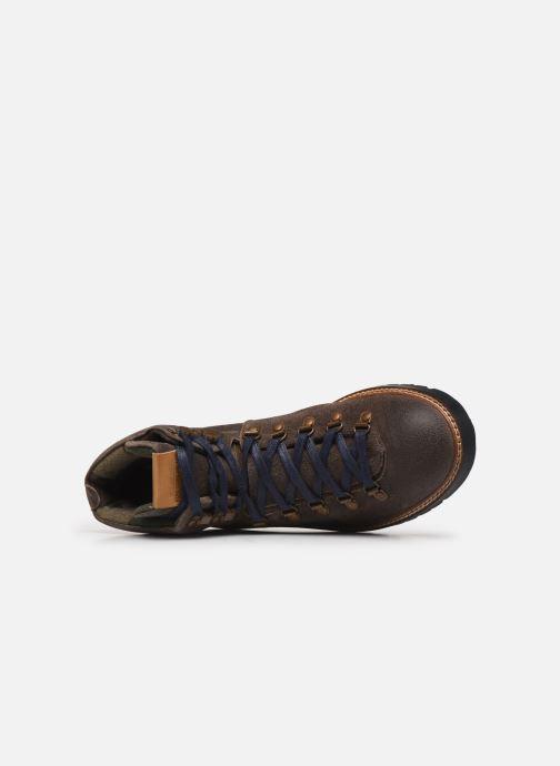 Bottines et boots Pepe jeans Sherpa Boot Sde Marron vue gauche