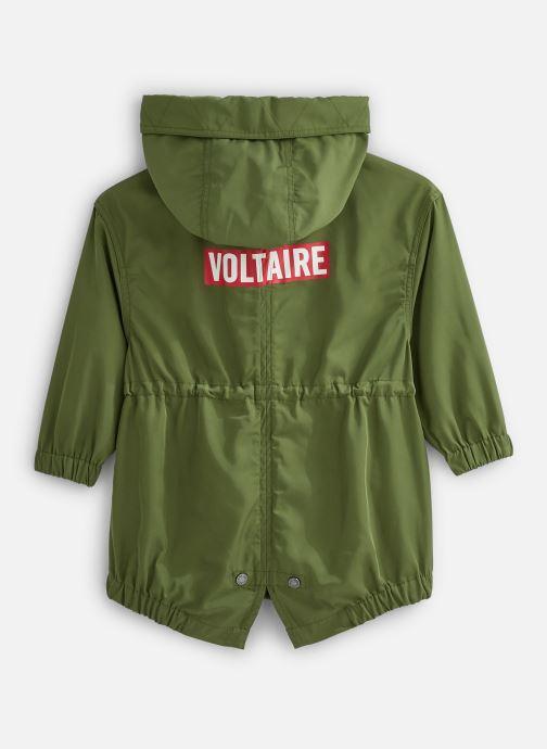 Vêtements Zadig & Voltaire Veste X16042 Vert vue bas / vue portée sac