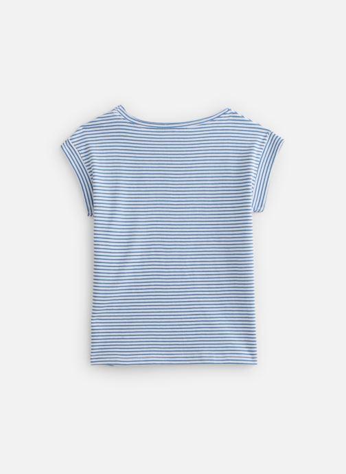 Vêtements Zadig & Voltaire T-shirt  X15202 Bleu vue bas / vue portée sac