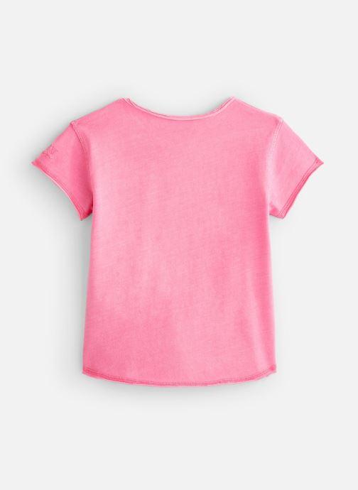 Vêtements Zadig & Voltaire T-shirt X15203 Rose vue bas / vue portée sac