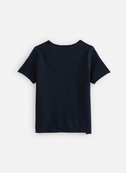 Vêtements Zadig & Voltaire T-shirt X25191 Bleu vue bas / vue portée sac