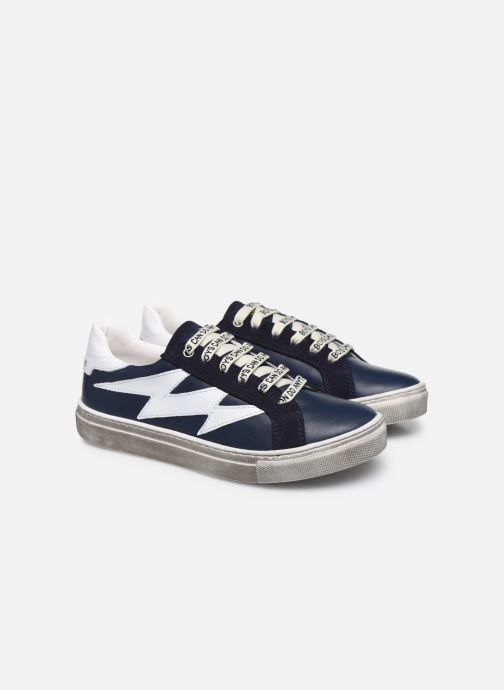 Trainers Zadig & Voltaire X29011 Blue 3/4 view