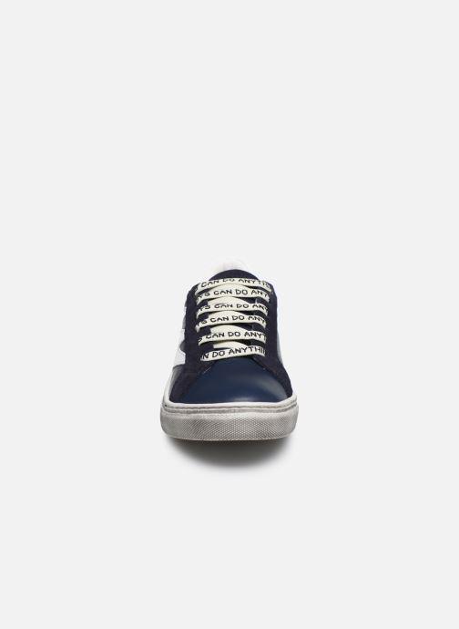 Baskets Zadig & Voltaire X29011 Bleu vue portées chaussures