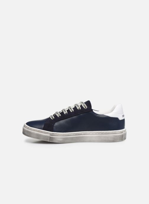 Trainers Zadig & Voltaire X29011 Blue front view