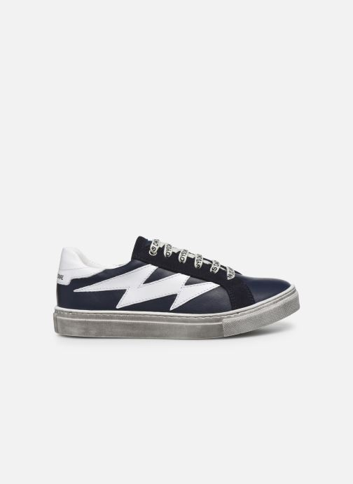 Trainers Zadig & Voltaire X29011 Blue back view