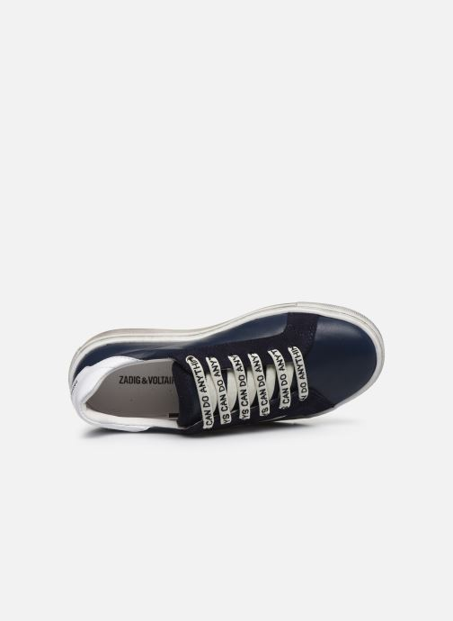 Trainers Zadig & Voltaire X29011 Blue view from the left