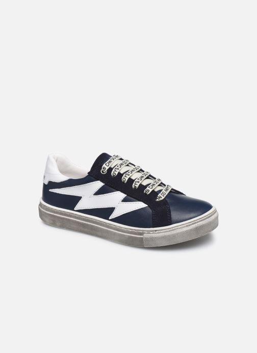 Baskets Zadig & Voltaire X29011 Bleu vue détail/paire