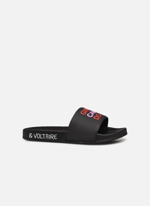 Sandales et nu-pieds Zadig & Voltaire X19015 Noir vue derrière