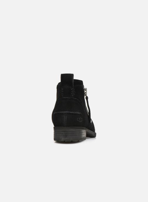 Botines  UGG W Aureo Boot Negro vista lateral derecha