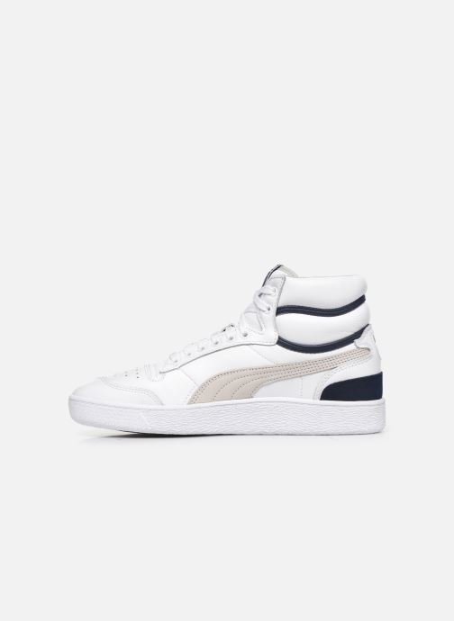 Sneakers Puma SLCT Ralph S Mid Hvid se forfra