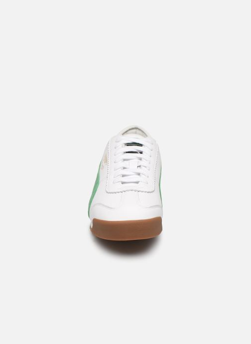Baskets Puma SLCT Roma '69 Blanc vue portées chaussures