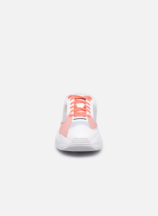 Baskets Puma WN Stormy Blanc vue portées chaussures