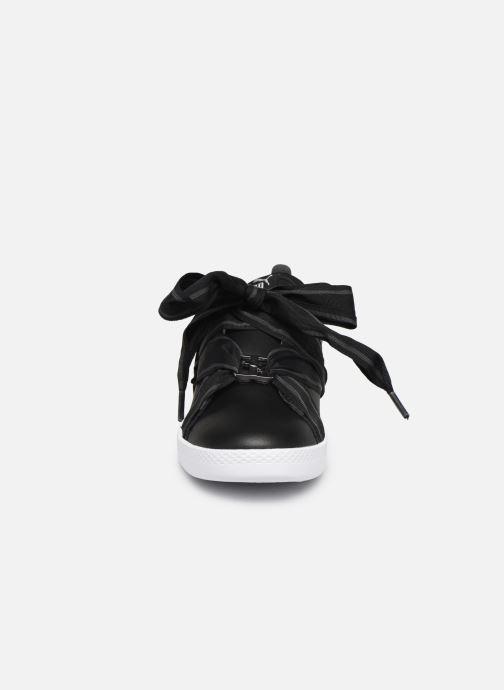 Baskets Puma WNS Smash Buckle Core Noir vue portées chaussures