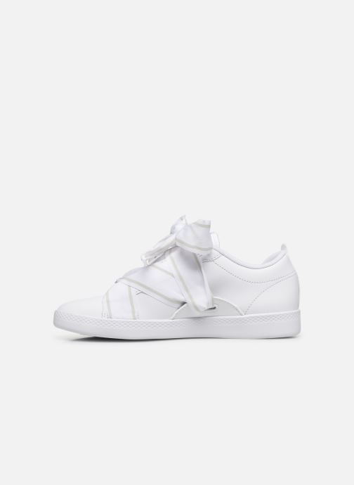 Baskets Puma WNS Smash Buckle Core Blanc vue face