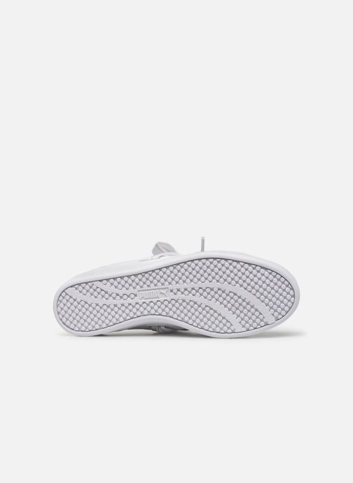 Baskets Puma WNS Smash Buckle Core Blanc vue haut