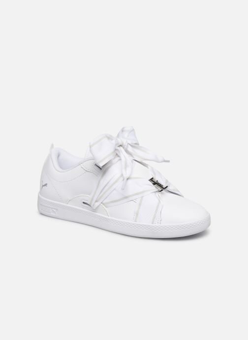 Baskets Puma WNS Smash Buckle Core Blanc vue détail/paire