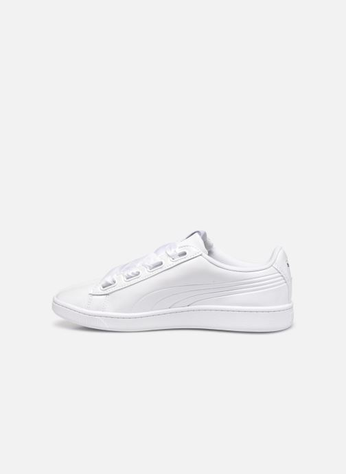 Baskets Puma WNS Vikky Ribbon V2 P Blanc vue face