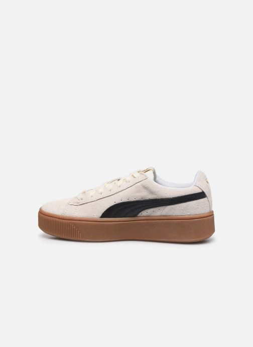 Baskets Puma WNS Vikky STACKD SD Blanc vue face