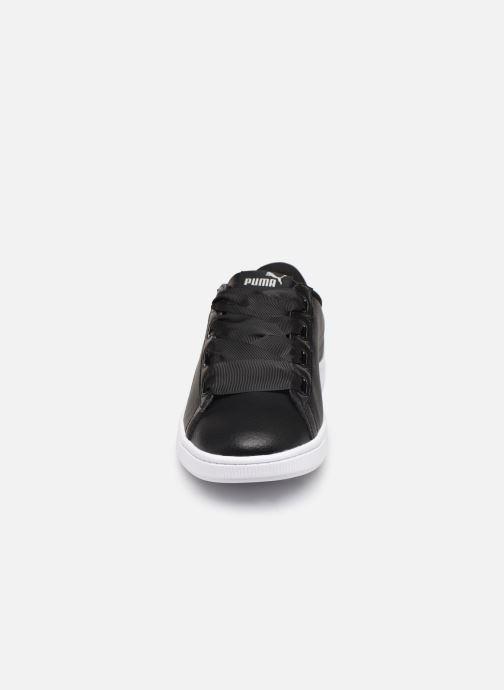 Baskets Puma JR Vikky Ribbon SL Noir vue portées chaussures