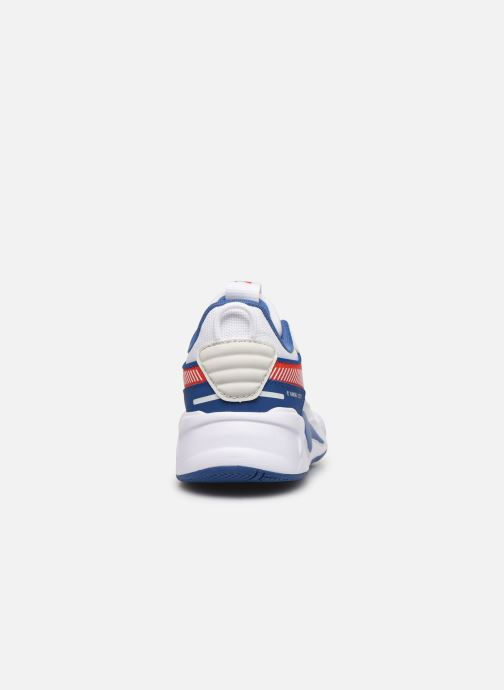 Baskets Puma PS RSX HARD DRIVE.WH-RED Blanc vue droite