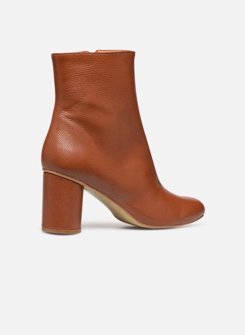 Bottines et boots Made by SARENZA South Village Boots #1 Marron vue face