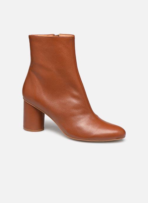 Bottines et boots Made by SARENZA South Village Boots #1 Marron vue droite