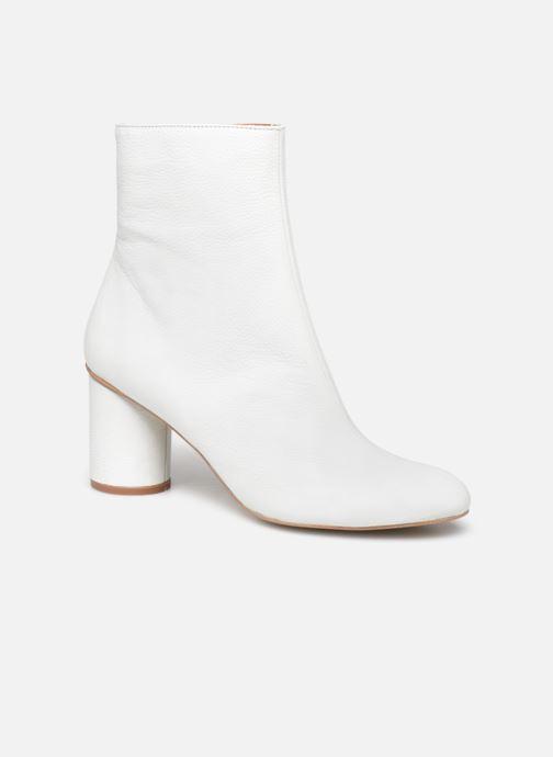 Bottines et boots Made by SARENZA South Village Boots #1 Blanc vue droite
