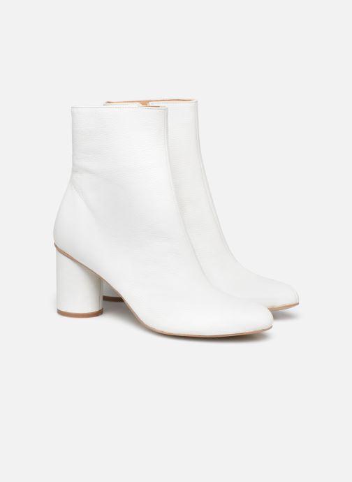 Bottines et boots Made by SARENZA South Village Boots #1 Blanc vue derrière