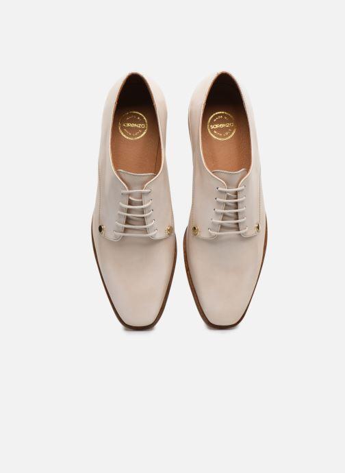 Zapatos con cordones Made by SARENZA Summer Folk Souliers #2 Beige vista del modelo
