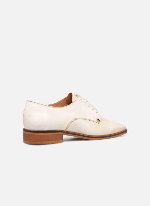 Zapatos con cordones Made by SARENZA Summer Folk Souliers #2 Beige vista de frente