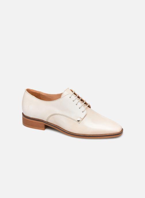 Zapatos con cordones Made by SARENZA Summer Folk Souliers #2 Beige vista lateral derecha