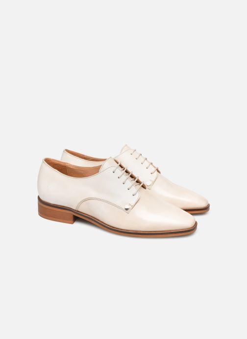 Chaussures à lacets Made by SARENZA Summer Folk Souliers #2 Beige vue derrière