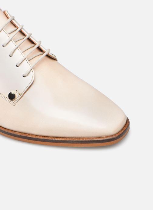 Zapatos con cordones Made by SARENZA Summer Folk Souliers #2 Beige vista lateral izquierda