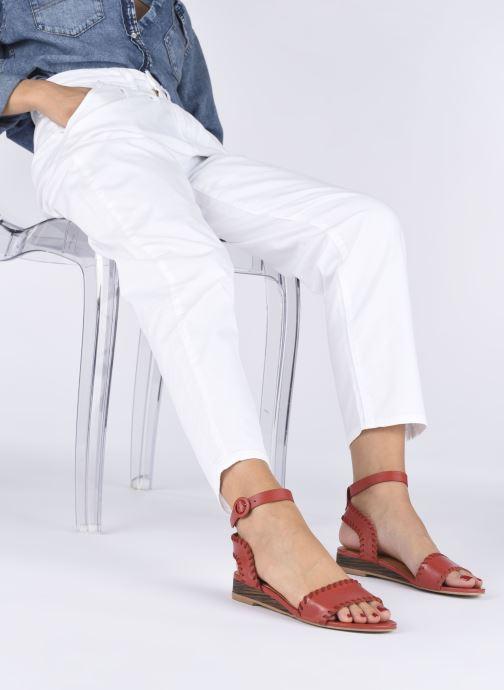 Sandali e scarpe aperte Made by SARENZA South Village Sandales Plates #4 Rosso immagine dal basso