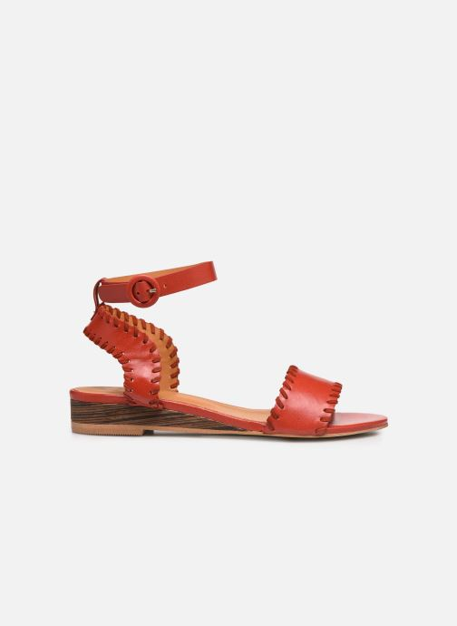 Sandalen Made by SARENZA South Village Sandales Plates #4 rot detaillierte ansicht/modell