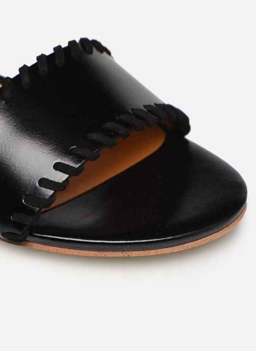 Sandales et nu-pieds Made by SARENZA South Village Sandales Plates #4 Noir vue gauche