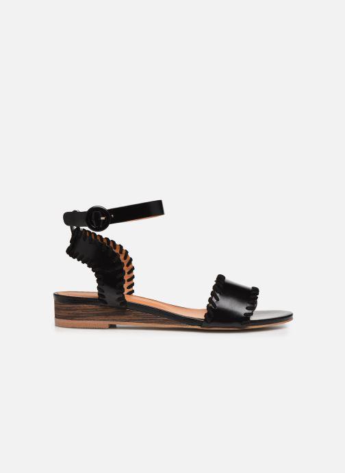 Sandales et nu-pieds Made by SARENZA South Village Sandales Plates #4 Noir vue détail/paire