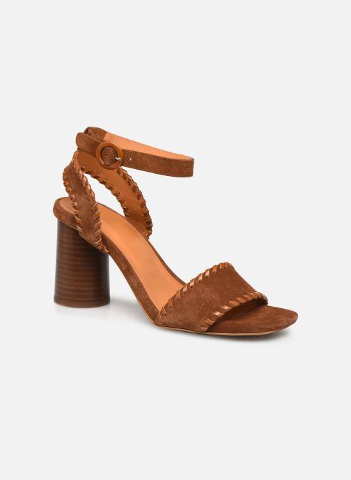 Sandali e scarpe aperte Made by SARENZA South Village Sandales à Talons #2 Marrone immagine destra