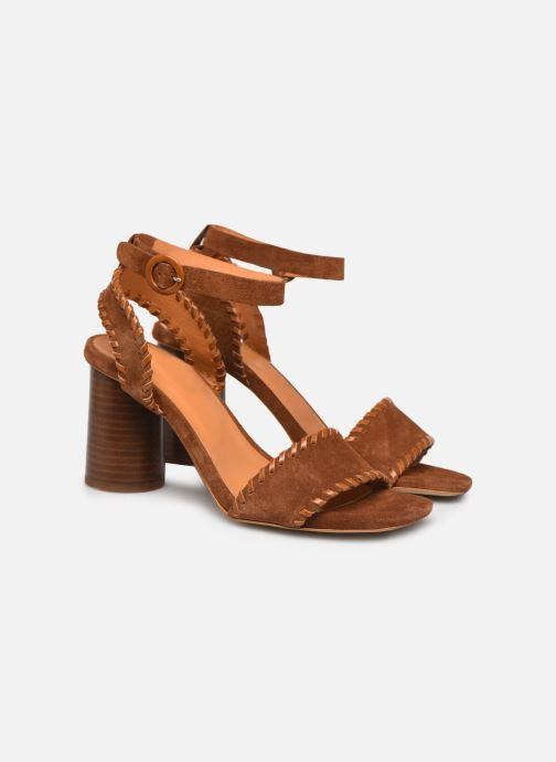Sandali e scarpe aperte Made by SARENZA South Village Sandales à Talons #2 Marrone immagine posteriore