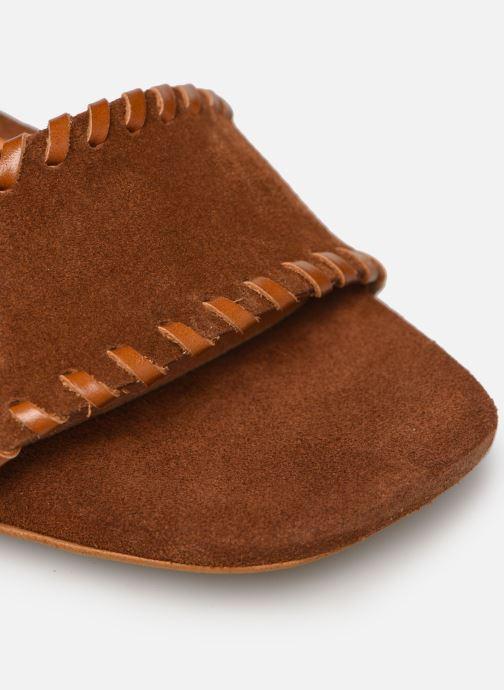 Sandali e scarpe aperte Made by SARENZA South Village Sandales à Talons #2 Marrone immagine sinistra