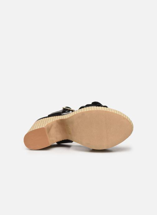 Sandalias Made by SARENZA South Village Sandales à Talons #8 Negro vista de arriba