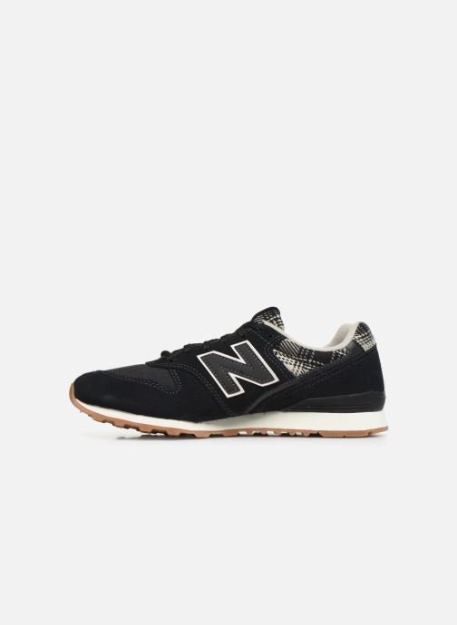 Trainers New Balance WL996 B Black front view